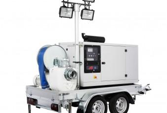 Мултифункционални моторни помпи LAMPO Emergency – за бърза реакция при природни бедствия и аварийни ситуации