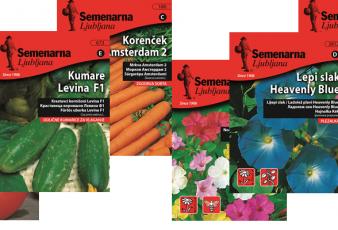 Семена за цветя и зеленчуци