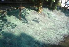 Укрепване против повърхностна ерозия и хидропосев - х-л Гергана, КК Албена