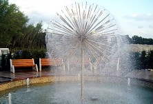 Бизнес Парк Варна - фонтан