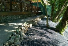 Укрепване против повърхностна ерозия - х-л Гергана, КК Албена